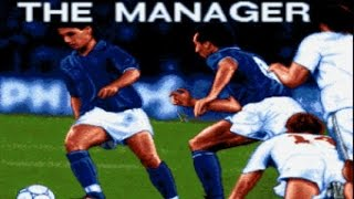 The Manager gameplay (PC Game, 1991)