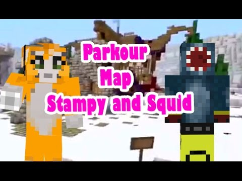 Stampy And Squid Adventure Maps Minecraft xbox Stampy and Squid Adventure Map Parkour   Stampy and  Stampy And Squid Adventure Maps