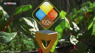 ابتكار ذكي للعناية بالنباتات
