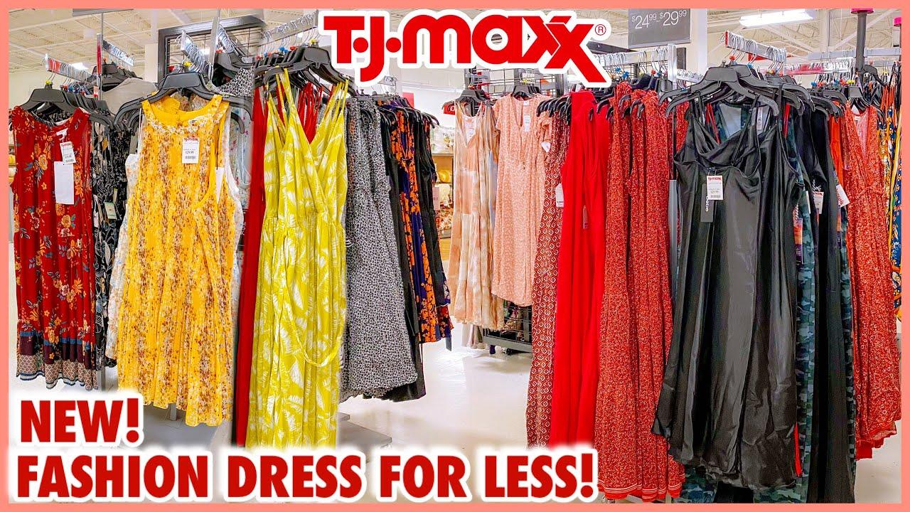 👗TJ MAXX FASHION DRESS FOR LESS‼️ NEW FINDS MAXI DRESS & MIDI DRESS❤️SHOP WITH ME💟