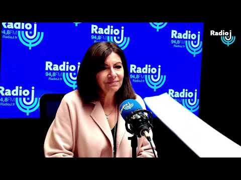 Invitée du Forum Radio J : Anne Hidalgo