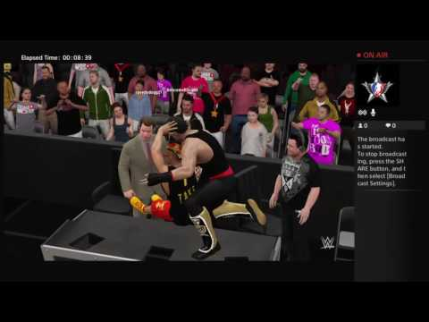 NWL Main Event:Me vs awesome k dog last man standing part 3