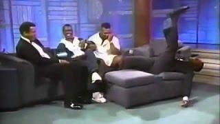 Приколы Мухаммеда Али на шоу, вместе с Майк Тайсоном и Шуга Рей Леонардом