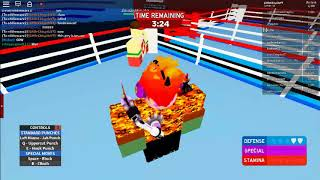 Ro-Boxing Gameplay With Eddiemarx2!! (Roblox)