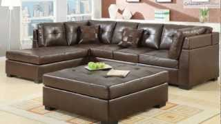 Darie Brown Sectional Collection From Coaster Furniture
