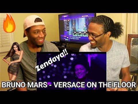 Bruno Mars - Versace On The Floor (Official Video) (REACTION)