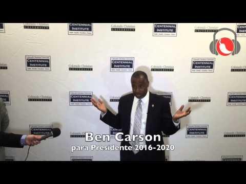 Ben Carson entrevista alchile radio