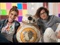 """Atenção, fãs de Star Wars! Estreia hoje o talk-show """"Papo Redondo com BB-8"""""""