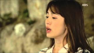 """[태양의 후예]  - 송중기, 송혜교에 """"저, 내일 귀국합니다"""""""