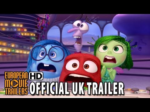 INSIDE OUT Official UK Trailer #2 (2015) - Disney Pixar Animated Movie HD