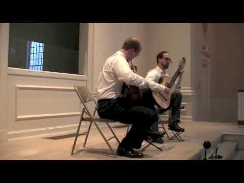 Athens Guitar Duo - Silver Clouds Chasing the Moon (Ren Guang; arr. Cody Brookshire)