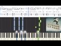 Enrique Iglesias ft. Descemer Bueno, Zion & Lennox - Súbeme La Radio Synthesia Piano Tutorial