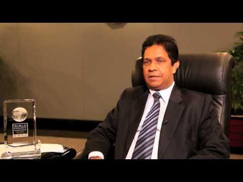 Aravinda Perera on Sri Lanka   Sampath Bank   World Finance Videos