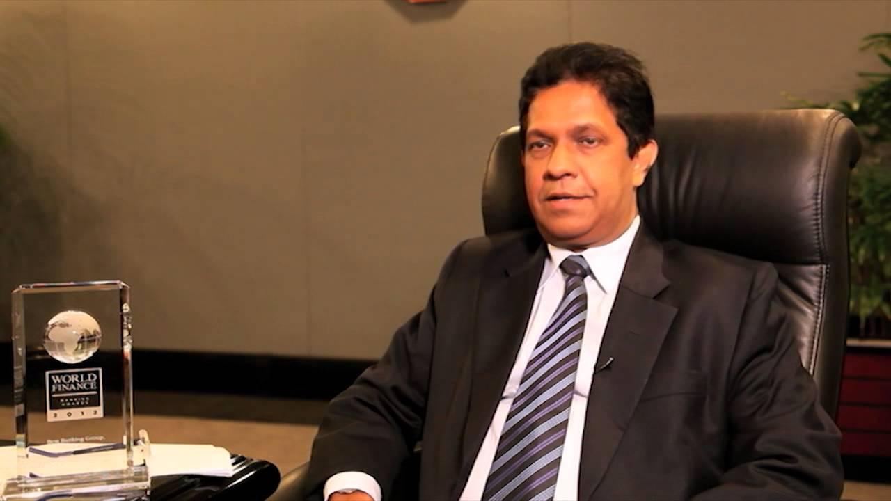Aravinda Perera on Sri Lanka | Sampath Bank | World Finance Videos