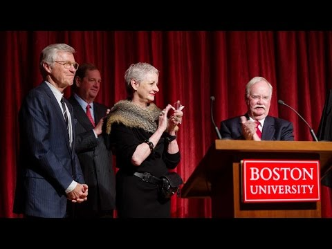 Questrom School of Business Naming Celebration