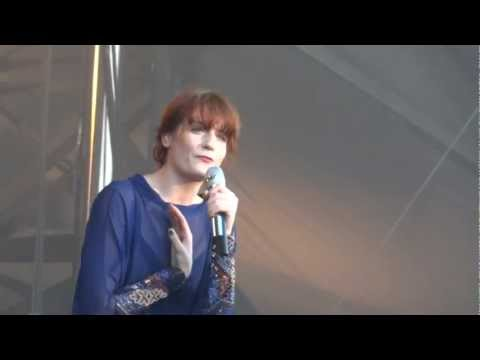 Florence + The Machine Spectrum (Say My Name) Live Montreal 2012 HD 1080P