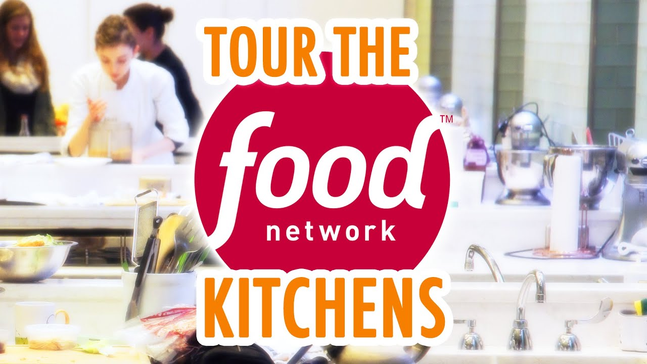 Mariannes Exclusive Food Network Studio Tour Hgtv Handmade Youtube