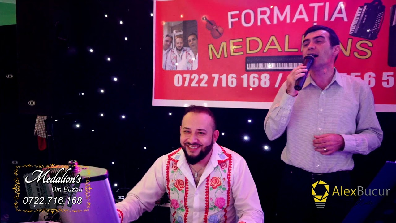 Formatia Medalion's Din Buzau - Program Muzica Usoara si Machedoneasca 2018 @ABM