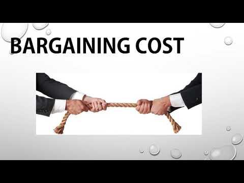 Transaction cost