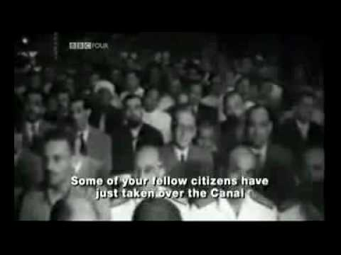 07.26.1956: Suez Crisis - Nasser announces nationalisation