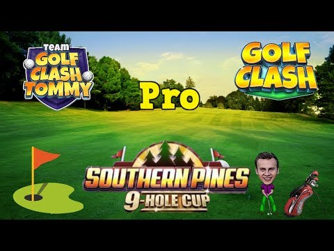 Golf Clash tips, Playthrough, Hole 1-9 - PRO - TOURNAMENT WIND! Southern Pines 9 Hole Cup!