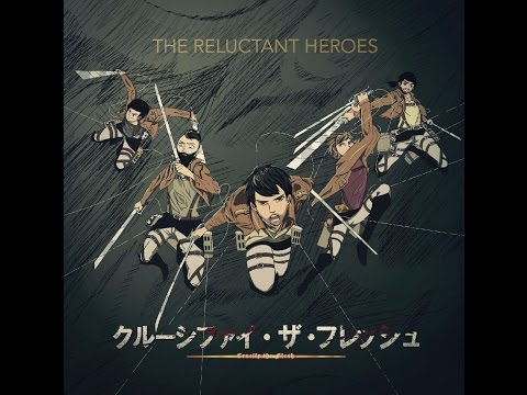 The Reluctant Heroes Attack on Titan Metal Cover