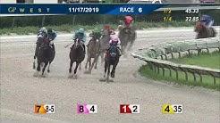 Gulfstream Park West November 17, 2019 Race 6