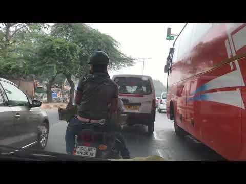 DELHI ROADS || DASH CAM || IPHONE  -7 || No One Follow Lane || DELHI ROAD - 19