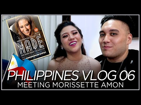 Meeting Morissette Amon | WISH 107.5 Presents - Morissette is MADE - PHILIPPINES VLOG 06 [2018]