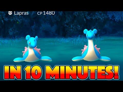 2 LAPRAS IN 10 MINUTES CAUSE STAMPEDE! Wild Snorlax, Lapras, Kadabra & More In Pokemon Go!