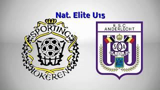 Nat. Elite U15 -  K. SC. Lokeren -  R.SC.Anderlecht