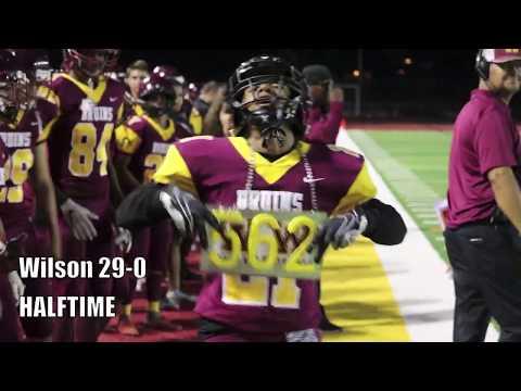 High School Football: Long Beach Wilson Vs. Huntington Beach