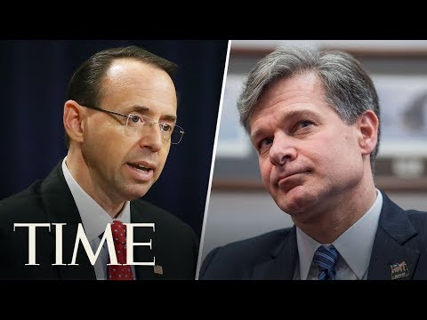 Rosenstein & Wray Testify On Report On DOJ/FBI Handling Of 2016 Election | TIME