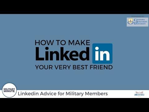 Military Minute - LinkedIn For Military Members