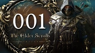 Let's Play The Elder Scrolls Online #001 - Mächtiger Drachenorc! - [Gameplay Deutsch Blind]