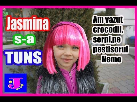 VLOG Jasmina S-A TUNS /Am vazut Reptile si Pesti vii /Teren de joaca Trambulina