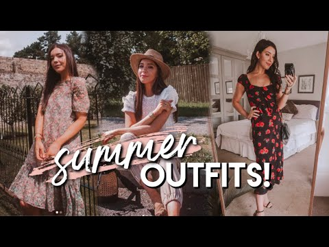 What I WORE In A WEEK! | Summer 2019 OUTFIT Inspiration