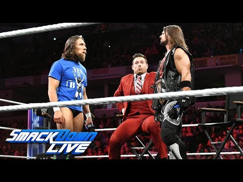 The Miz tries to stir up trouble between AJ Styles and Daniel Bryan: SmackDown LIVE, Oct. 9, 2018