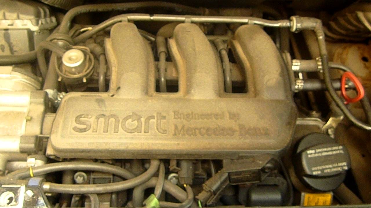 Motor City Auto >> 2002 SMART FORTWO 600CC CITY COUPE ENGINE - M160 - YouTube