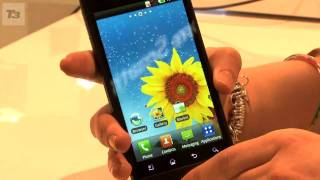 LG Optimus 3D phone video(LG's first 3D phone that you can shoot and share content on. We get a first look at the LG Optimus 3D phone in action., 2011-02-17T16:52:48.000Z)