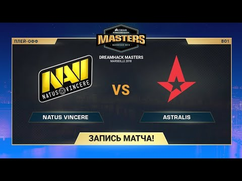Natus Vincere vs Astralis - DH Masters Marseille - Map 2