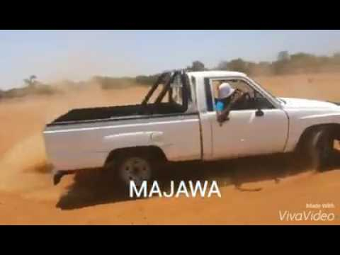 Spinning a Toyota hilux in Botswana