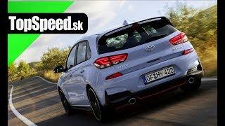 Jazda Hyundai i30 N TopSpeed.sk смотреть