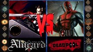 Alucard (Hellsing Ultimate) vs Deadpool (Marvel Comics) - Ultimate Mugen Fight 2015