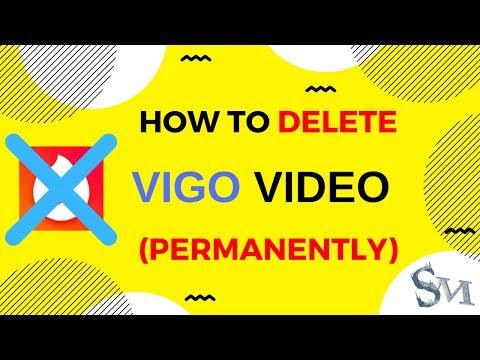 How To Delete Vigo Video Account Permanently | 2019 | #SignatureMorons