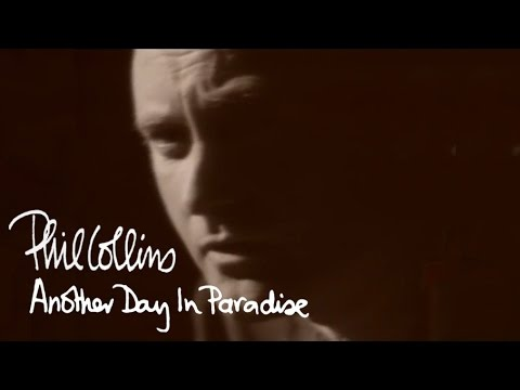 Mix - Phil Collins - Another Day In Paradise (Official Music Video)