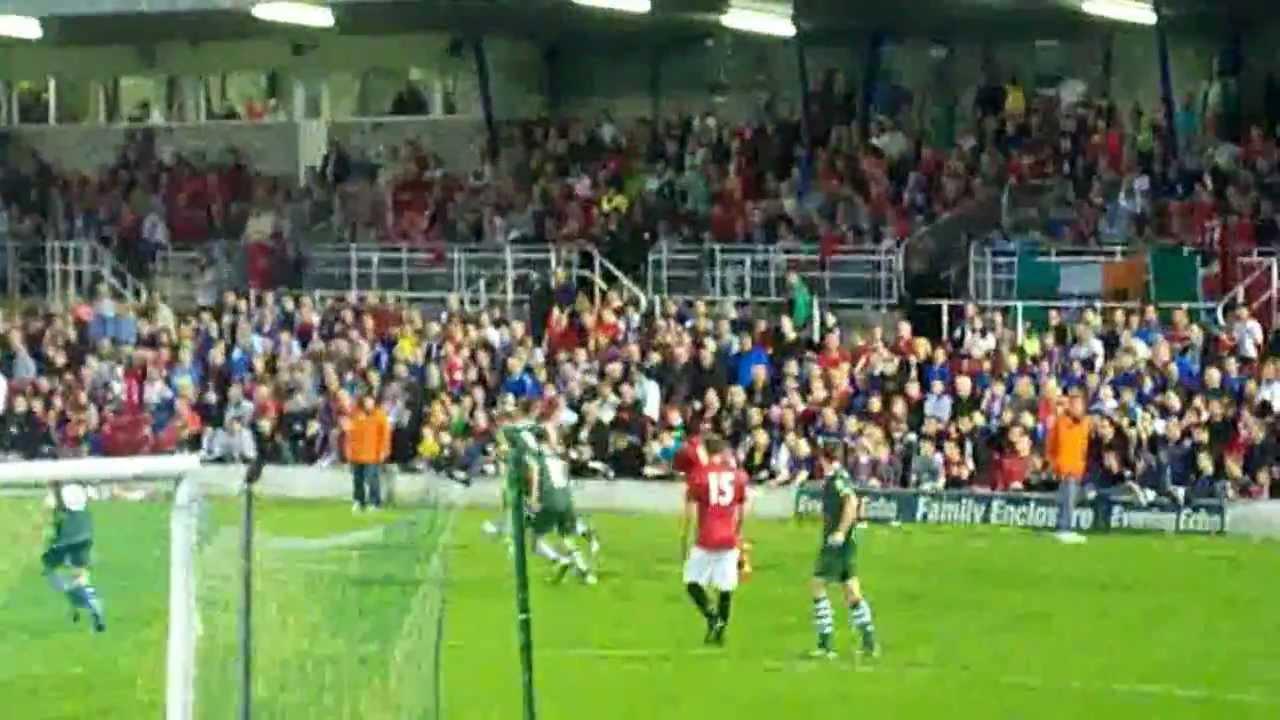 Cork City FC vs Manchester United XI 25/07/12 - YouTube | 1280 x 720 jpeg 95kB