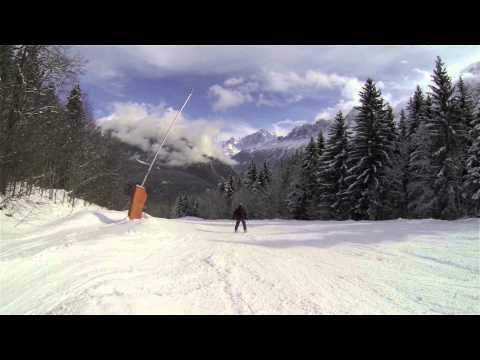 Chamonix Skiing 2014