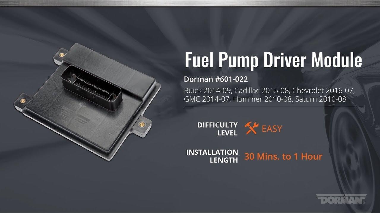 2003 Hummer H2 Fuel Pump Relay Location