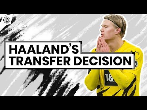 Erling Haaland Has Man United Transfer Option   Man United News